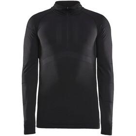Craft Active Intensity Koszulka z zamkiem błyskawicznym Mężczyźni, black/asphalt